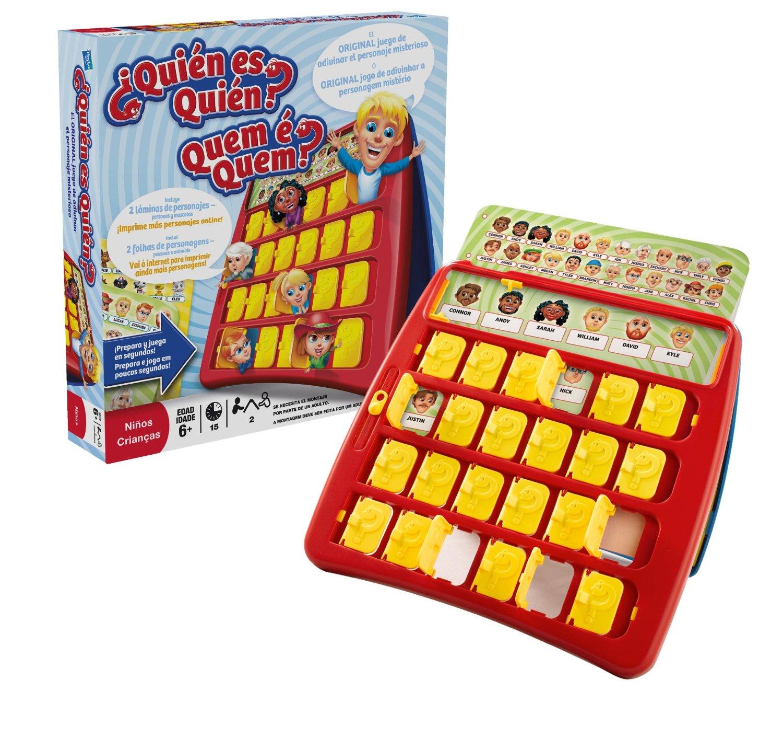 Qui n es qui n juego de mesa hasbro 05801 1001juguetes for Flashpoint juego de mesa