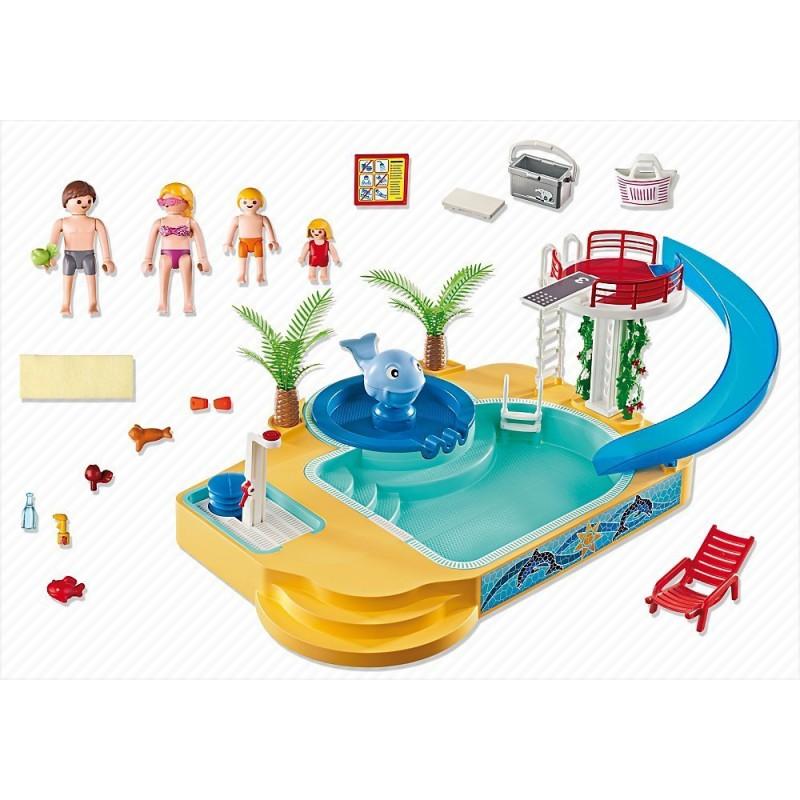 Playmobil 5433 piscina con fuente 1001juguetes - Playmobil piscina ballena ...
