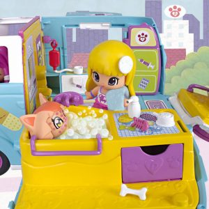 ambulancia de mascotas pin y pon 2