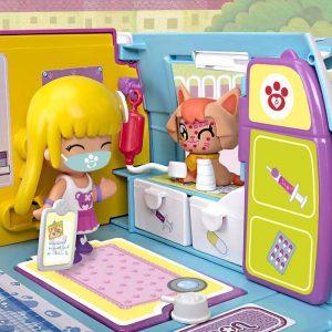 pin y pon ambulancia de mascotas