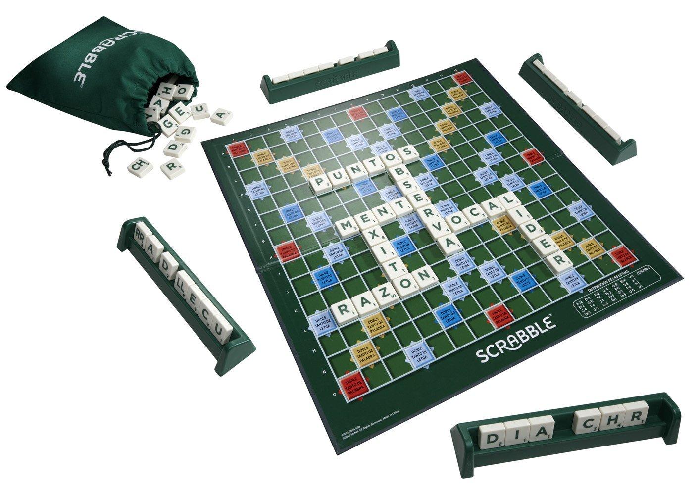 Scrabble original mattel y9594 1001juguetes for Cazafantasmas juego de mesa