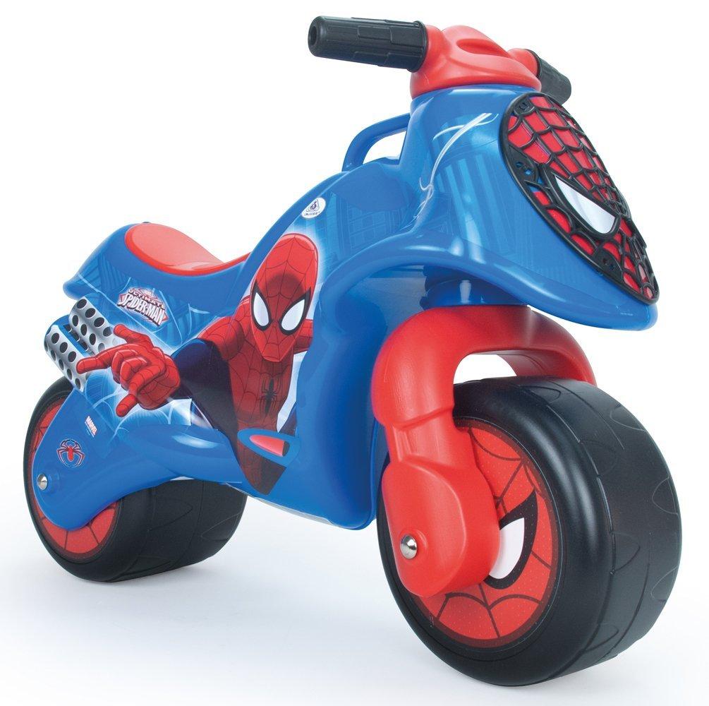 Moto correpasillos spiderman injusa 19060 1001juguetes - Spider man moto ...