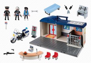 Estación de policia maletin playmobil 5299