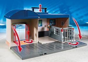 Estación de policia playmobil