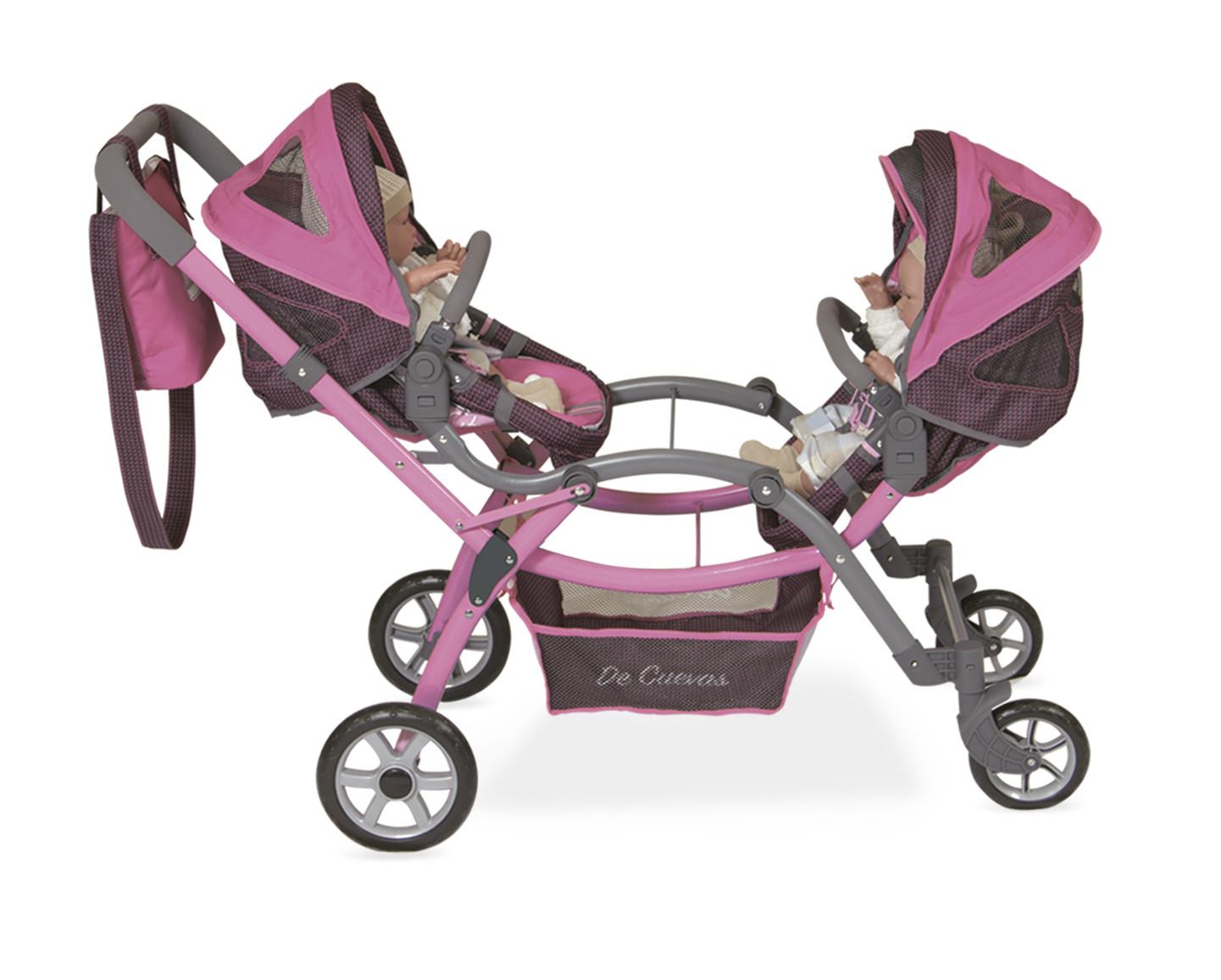 Carro Gemelar De Munecas City Decuevas Toys 80318