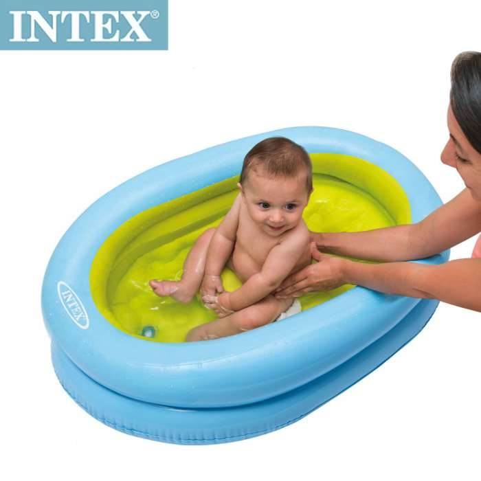 Ba era bebe 0 12 meses intex 48421 1001juguetes for Parches para piscinas intex