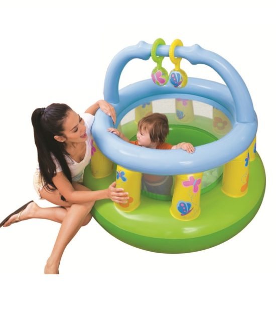 Mi primer gym 9 18 meses intex 48474 1001juguetes for Piscina inflable intex para bebe