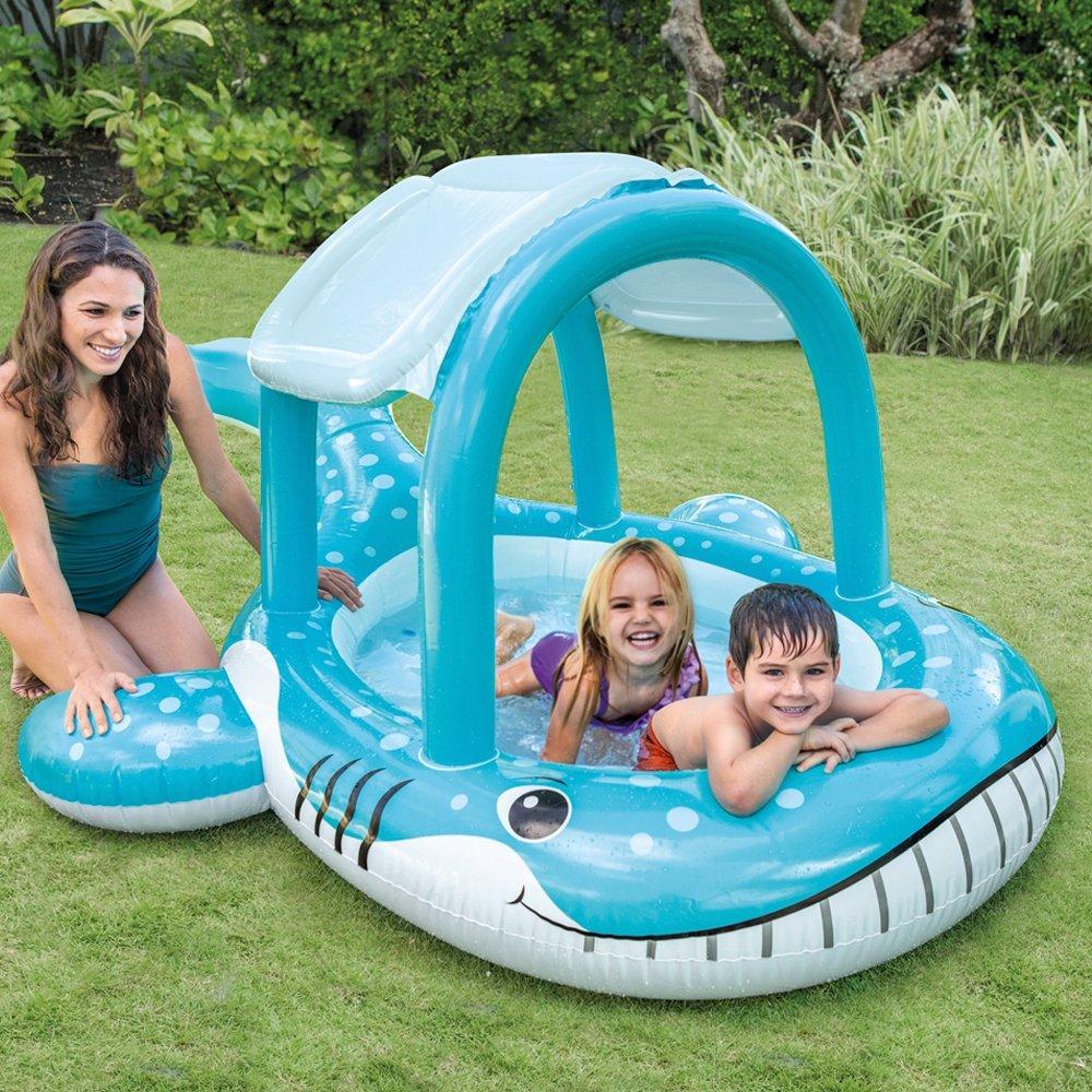 Piscina ballena intex 57125 1001juguetes for Parches para piscinas intex