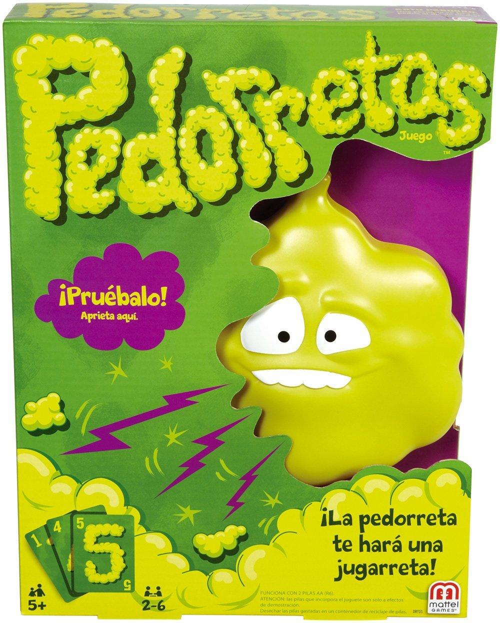 Pedorretas Juego De Mesa Mattel Dry35 1001juguetes
